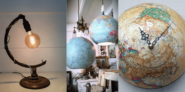 Use all parts of your unloved Globe